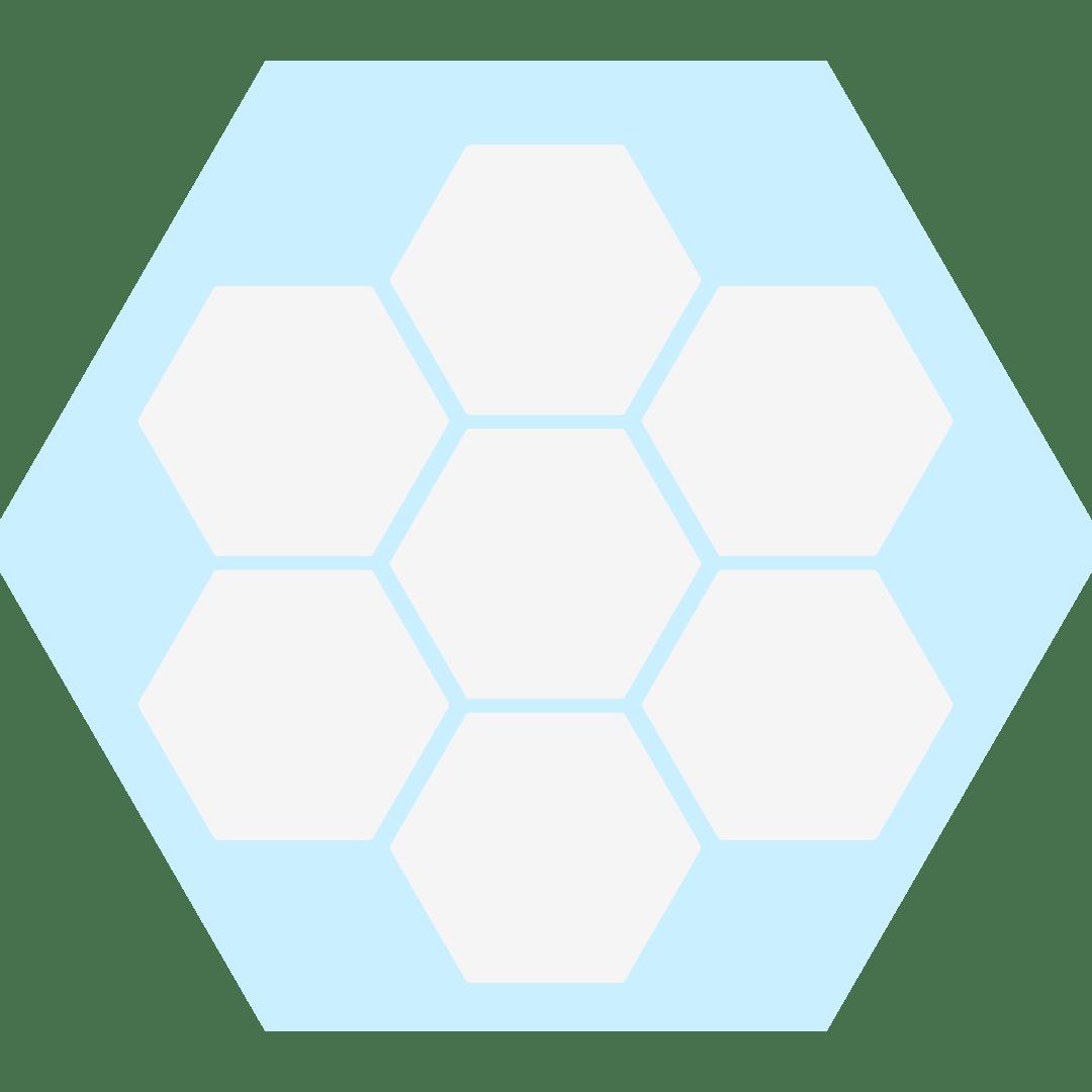 White Hex Pattern